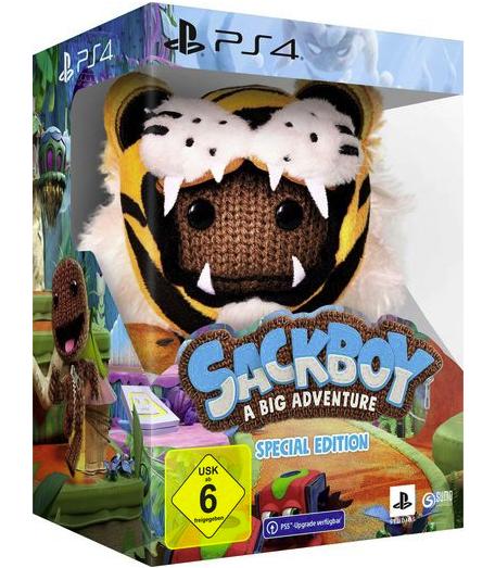 Sackboy: A Big Adventure Special Edition PlayStation 4 inkl. kostenlosem Upgrade auf PS5 für 86,54€ inkl. Versand (statt 100€)