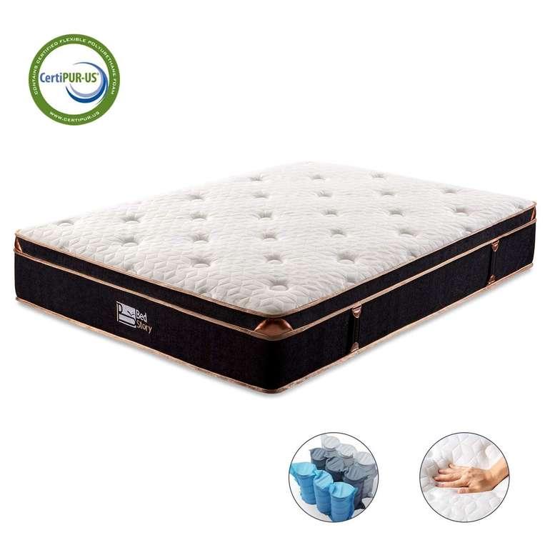 2 BedStory Produkte dank Gutschein reduziert, z.B. 7 Zonen Taschenfederkernmatratze (140 x 200 cm) für 130,49€