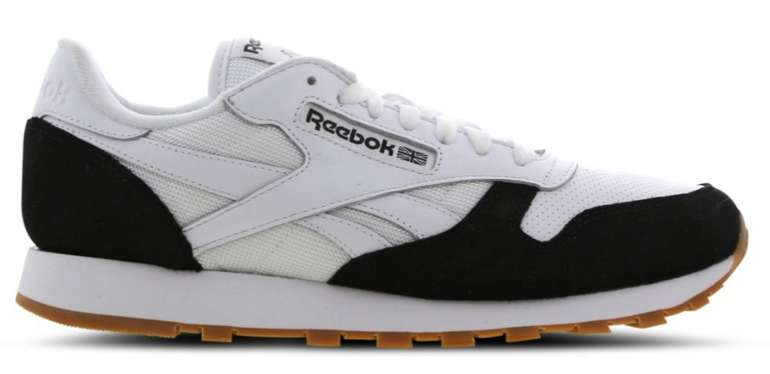 Reebok Classic Leather in schwarz-weiß für 59,99€inkl. Versand (statt 88€)