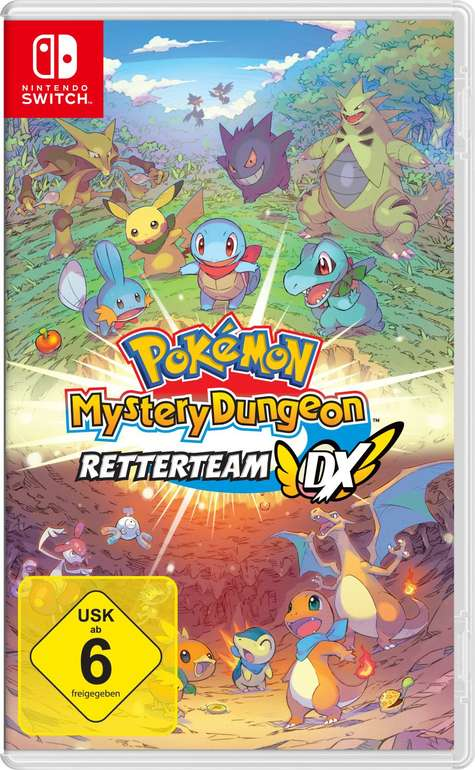 Nintendo Pokemon Mystery Dungeon: Retterteam DX (Switch) für 39,99€ inkl. Versand (statt 47€)
