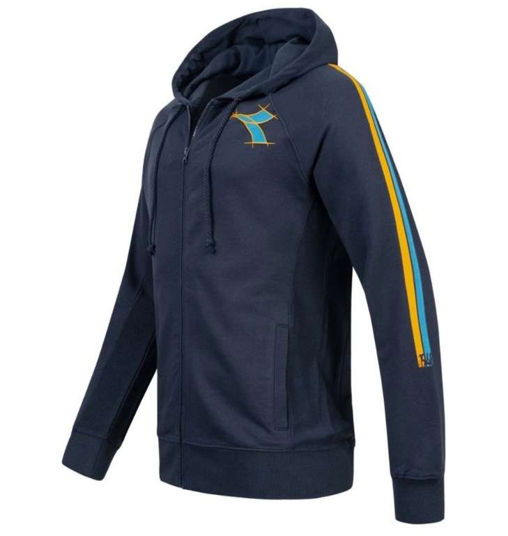 Diadora Fregio HD Herren Full Zip Sweat Jacke für 22,94€ inkl. Versand (statt 29€)
