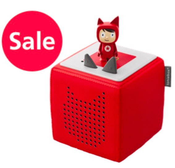 Toniebox Starterset + Kreativ Tonie - Hörspielbox für Kids je nur 63,68€ inkl. Versand (statt 76€)