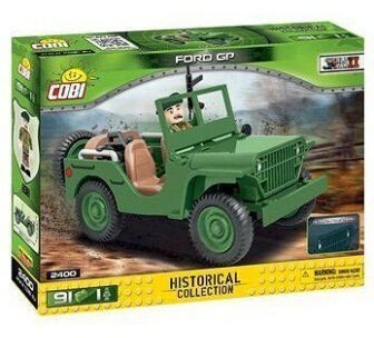 Cobi Historical Collection (2400) - Ford GP Militärjeep Bausatz für 7,78€ inkl. Versand (statt 13€) - Kultclub!
