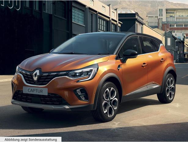 Renault Captur Intens E-Tech Plug-in Hybrid für 111€ netto mtl. im Gewerbeleasing - LF: 0.43