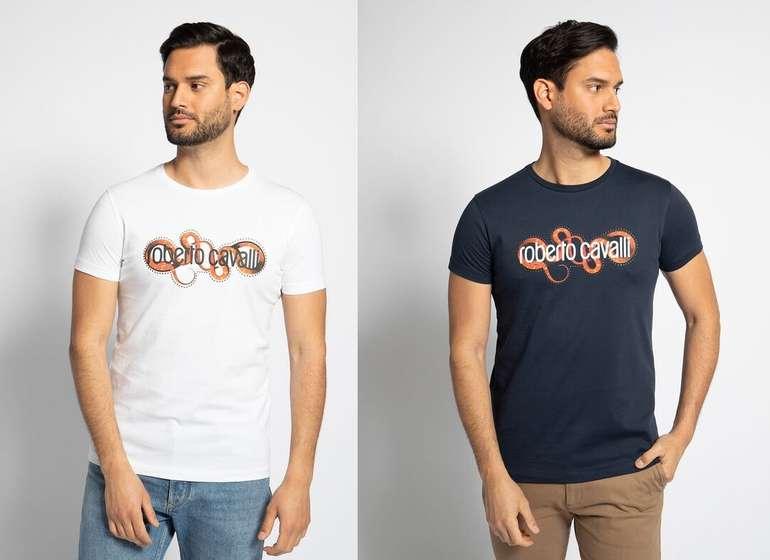 Roberto Cavalli T-Shirt in Zwei Farben für je 52,04€ inkl. Versand (statt 100€)