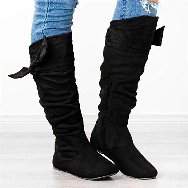 Celucke Damen Wildleder Stiefel (2 Modelle, 7 Farben) ab 16,99€ inkl. VSK