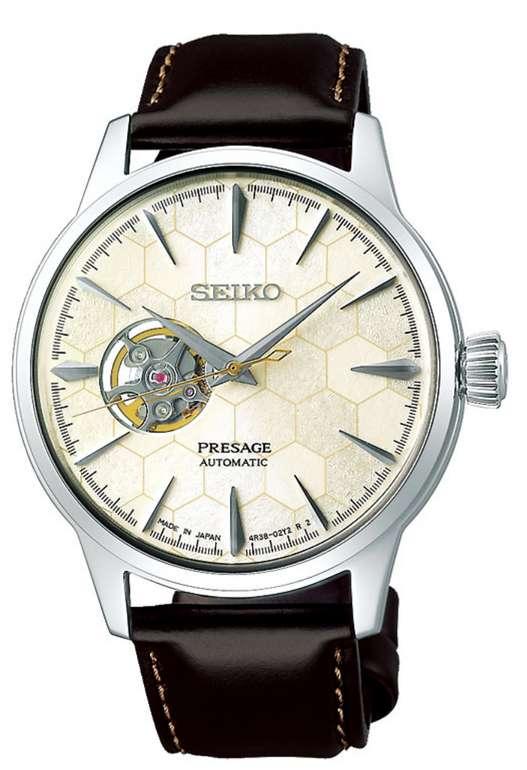 Seiko Herrenuhr Presage SSA409J1 in silber für 415,35€ inkl. Versand (statt 496€)