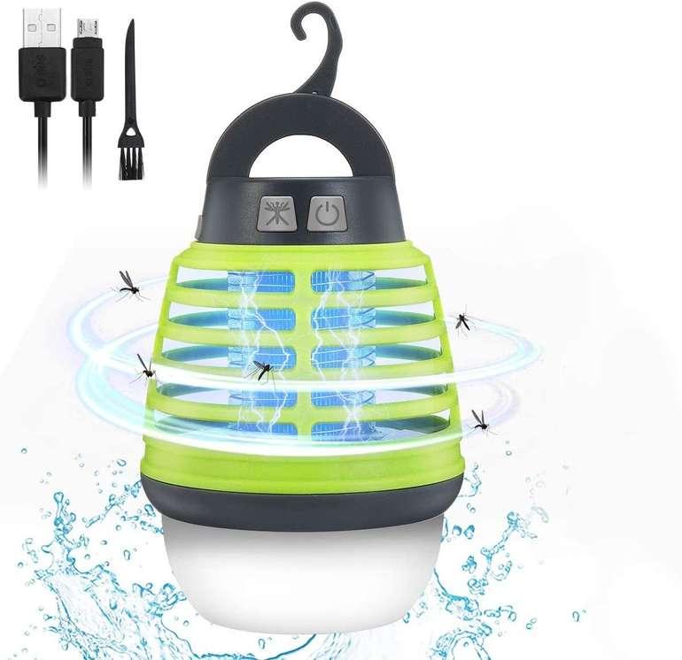 Kingso 2-in-1 elektrische Mücken- & Campinglampe für 10,49€ inkl. Prime Versand (statt 15€)