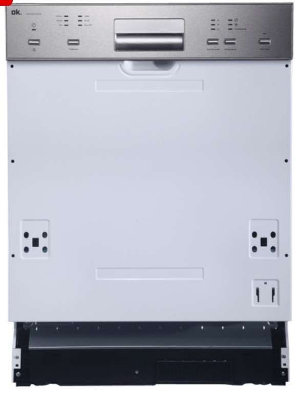 OK. ODW 60012 BI A2 Geschirrspüler für 149,99€ inkl. Versand (statt 300€)