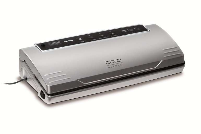 Caso VC100 Vakuumierer für 79,99€ inkl. Versand (statt 95€)