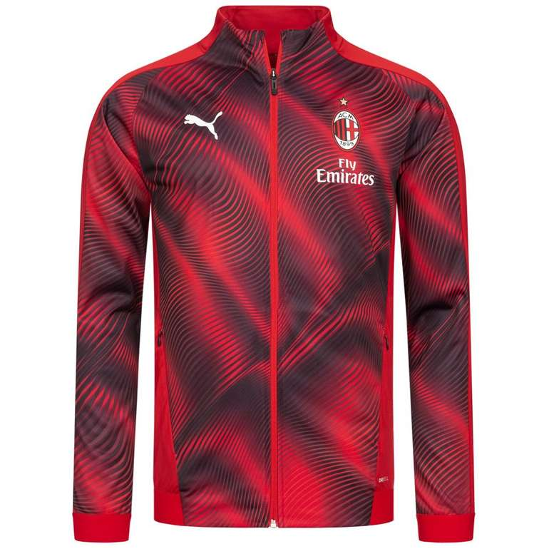 SportSpar AC Mailand Sale, z.B. Puma Herren Trainingsjacke für 34,99€ (statt 46€)