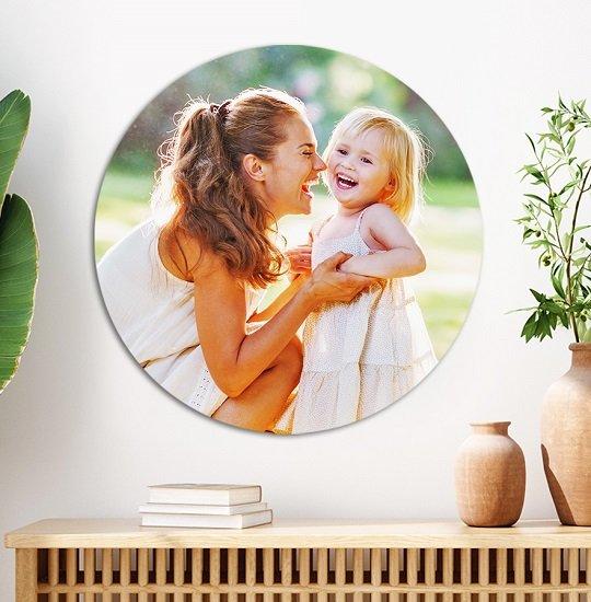 Lieblingsfoto.de: 80% Rabatt auf runde Bilder auf Aluminium - z.B. 20cm für 10,94€ (statt 22€)