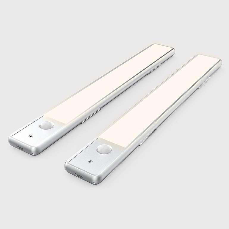 Ezvalo 2er Pack LED Schrankleuchten mit Bewegungsmelder für 17,84€ (statt 36€)