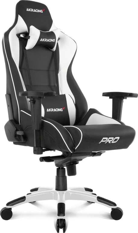 AKRacing Gaming Stuhl Master Pro in weiß für 383,90€ inkl. VSK