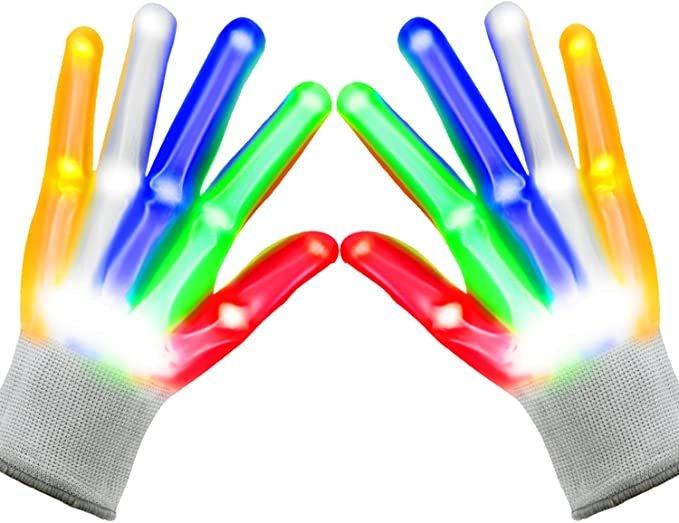 Soofun Kinder LED Handschuhe für 8,99€ inkl. Prime Versand (statt 15€)
