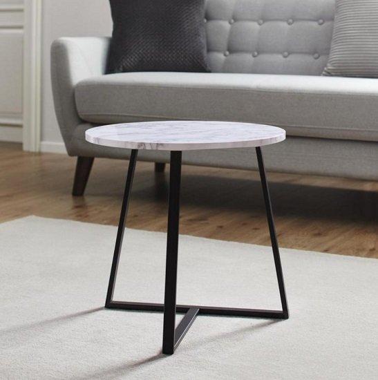 Bessagi Home Couchtisch 'Silvia' in Marmoroptik für 23,85€ inkl. Versand (statt28€)