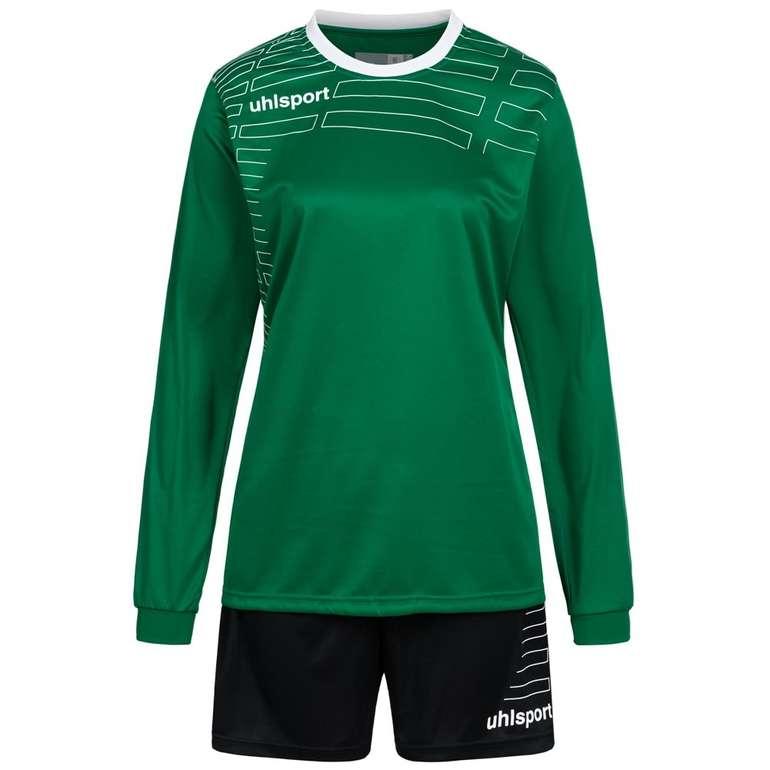 Uhlsport Match Damen Set - Langarm Trikot mit Shorts für 12,94€ inkl. Versand (statt 27€)