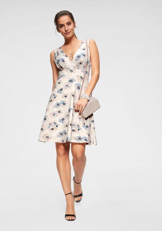 Bruno Banani Sommerkleid in wollweiß für 33,99€ inkl. VSK (statt 46€)