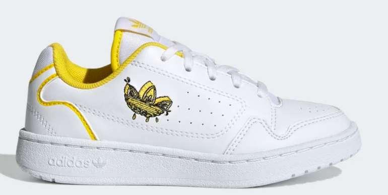 adidas NY 90 Kinder Schuh in Weiß/Gelb für 22€ inkl. Versand (statt 35€) - Creators Club!
