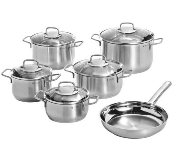 Knaller! WMF 6-teiliges Kochtopfset mit Pfanne für 103,94€ inklusive Versand
