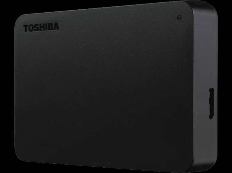 Toshiba Canvio Basics Exklusiv 4TB Festplatte mit 2.5 Zoll für 88€