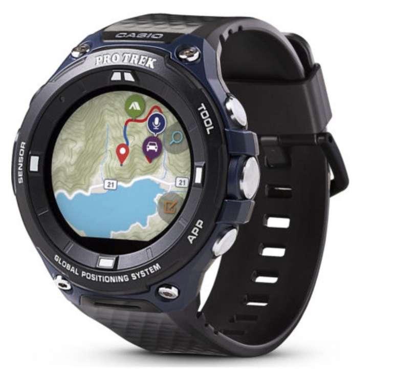 """Casio Herren Touchscreen Smartwatch Pro Trek """"WSD-F20A-BUAAE"""" für 169€ inkl. Versand (statt 235€)"""
