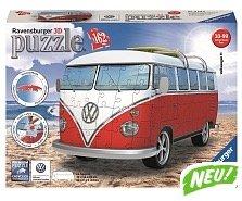 Toys'R'Us: 50% Rabatt auf Ravensburger 3D Puzzle z.B. VW T1 Bus für 17,93€