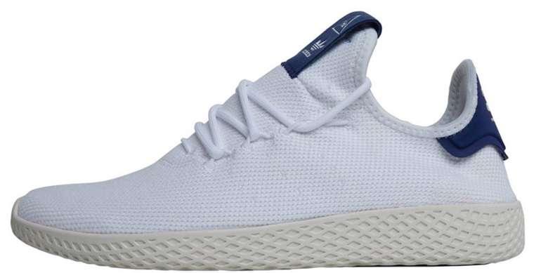 Adidas Originals x Pharrell Williams Damen Tennis HU Sneaker in Weiß für 34,44€ (statt 71€)