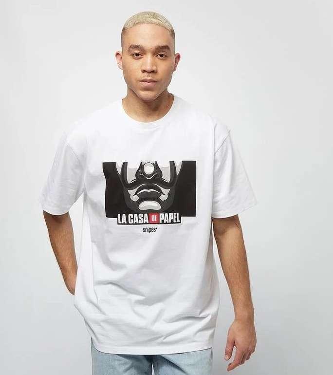 Snipes x Haus des Geldes Logo Herren T-Shirt für 16,14€ inkl. Versand (statt 25€)