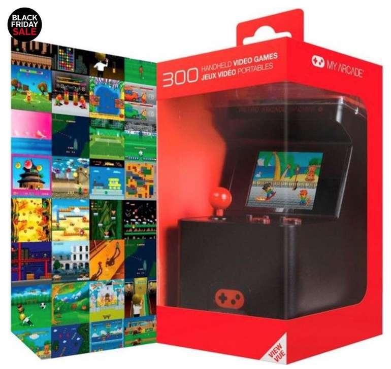 dreamGEAR My Arcade Classic - Retro Arcade Machine mit 300 Spielen für 14,99€ (statt 27€)