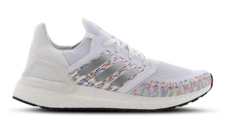 adidas Ultra Boost 20 Damen Sneaker in Weiß/Multi für 99,99€inkl. Versand (statt 122€)