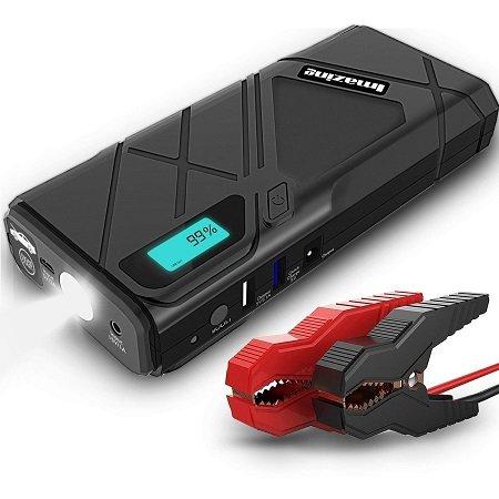 Imazing - Auto Starthilfe mit 12000mAh & 1500A inkl. LED-Lampe für 34,99€