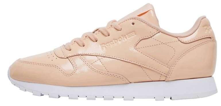 Reebok Classic Leather Patent Weiß Classics Schuhe Damen