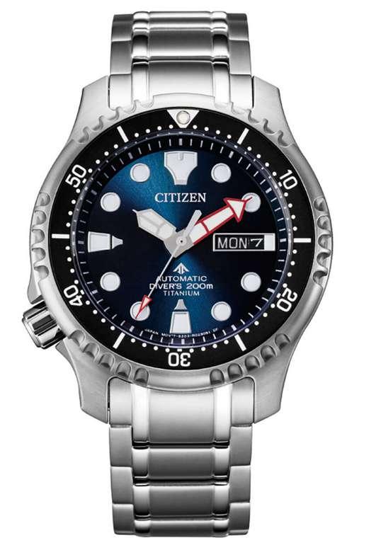 """Citizen Herrenuhr Marine """"NY0100-50ME"""" Titan silber für 279,20€ inkl. Versand (statt 345€)"""