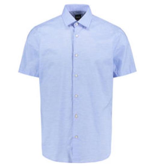 "Hugo Boss ""Rash"" Kurzarm-Herrenhemd für 62,96€ inkl. Versand (statt 90€)"