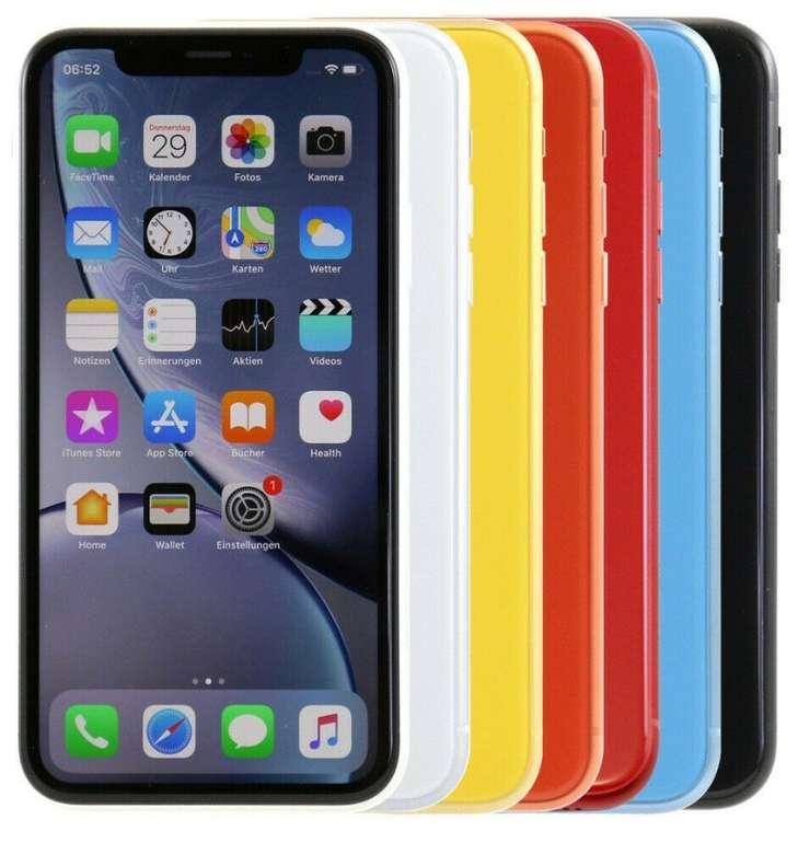 Apple iPhone XR mit 64GB (verschiedene Farben) für 579€ inkl. Versand (statt 612€)