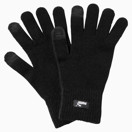 Puma Black-N.1 Logo Strick-Handschuhe für 6,10€ (statt 16€)
