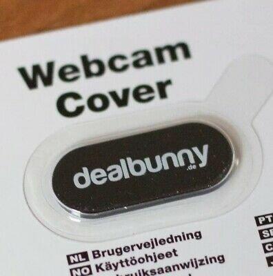 dealbunny Webcam Abdeckung (3 Stück) für 1,99€ inkl. VSK