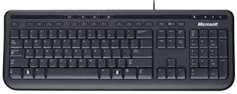 Microsoft Wired Desktop 600 Tastatur für 8,99€ inkl. Versand (statt 11€)