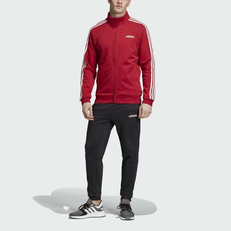 adidas Athletics 3-Streifen Herren Trainingsanzug für 39,95€ inkl. VSK
