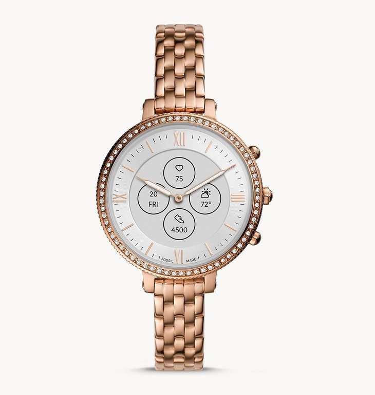 30% Rabatt auf Fossil Smartwatches – z.B. Hybrid Smartwatch Monroe für 153,30€ (statt 219€)