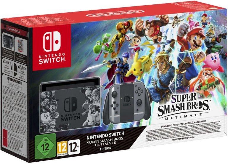 Nintendo Switch Super Smash Bros. Ultimate für 315€ inkl. VSK (statt 350€)