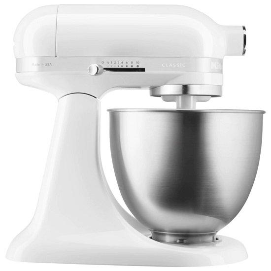 KitchenAid Classic 3,3l Mini-Küchenmaschine 5KSM3310X für 226,95€ (statt 300€)