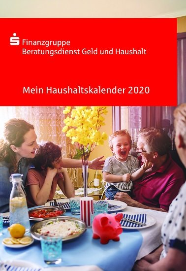 Haushaltsbuch 2020 Sparkasse