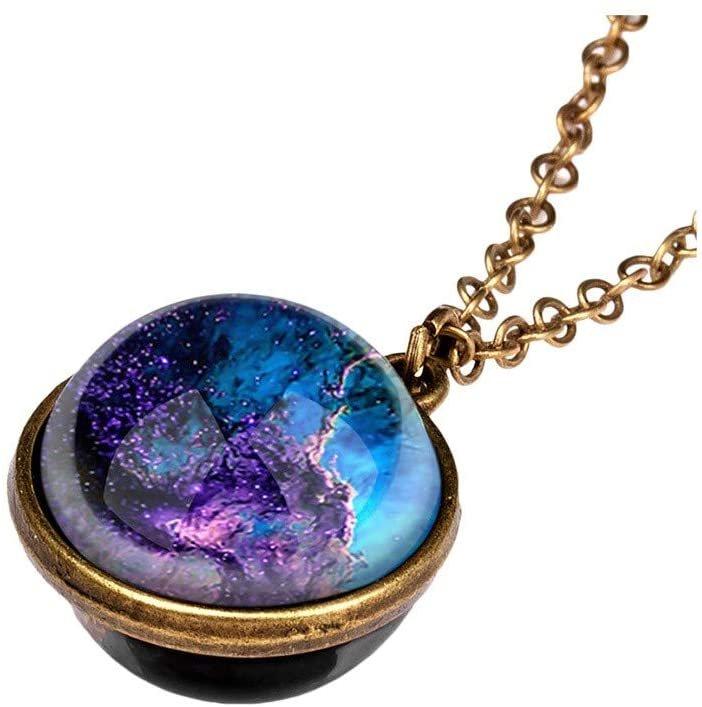 Vesniba Halskette mit Galaxie Anhänger für je 1,99€ inkl. Versand (statt 6€)