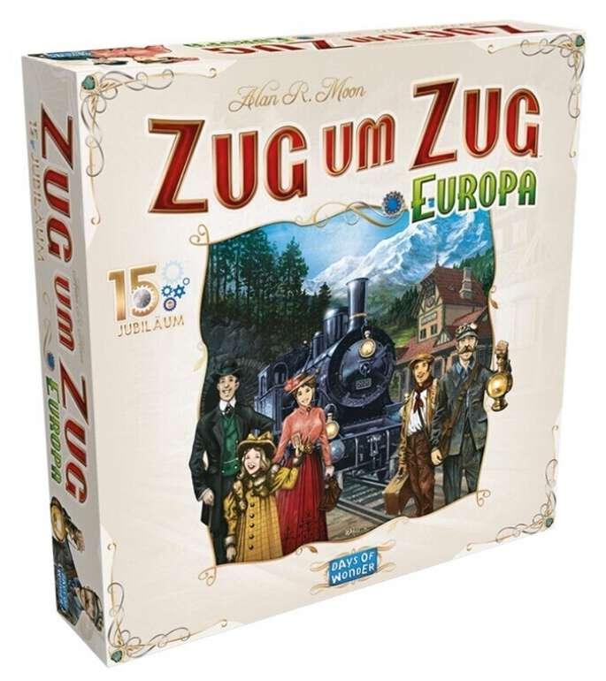 """Brettspiel: Zug um Zug Europa """"15 Jahre Edition"""" für 77,10€ inkl. Versand (statt 85€)"""