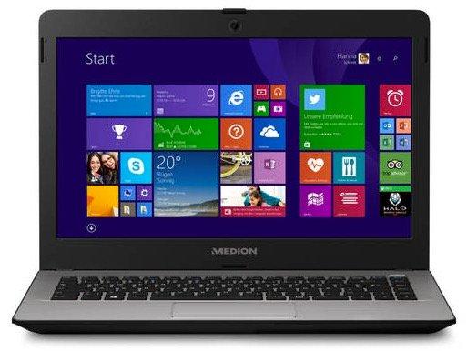 Medion Akoya E4214 Full HD Notebook für 169€ inkl. Versand (statt 244€)