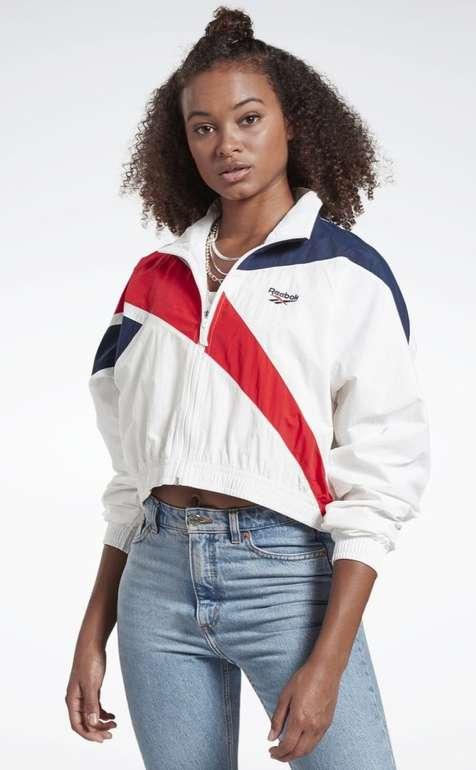 Reebok Damen Classics Cropped Track Jacket für 37,26€ inkl. Versand (statt 48€)
