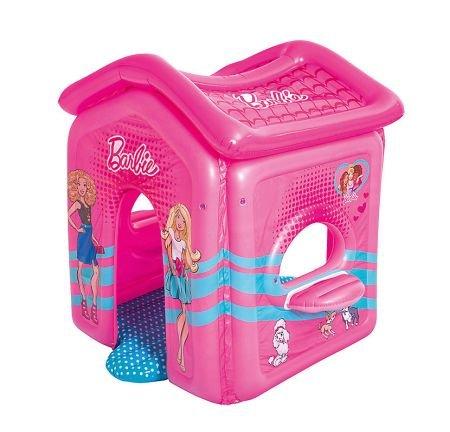 MyToys: 10% Rabatt auf Gartenspielgeräte, zB aufblasbares Barbie Haus für 33,54€