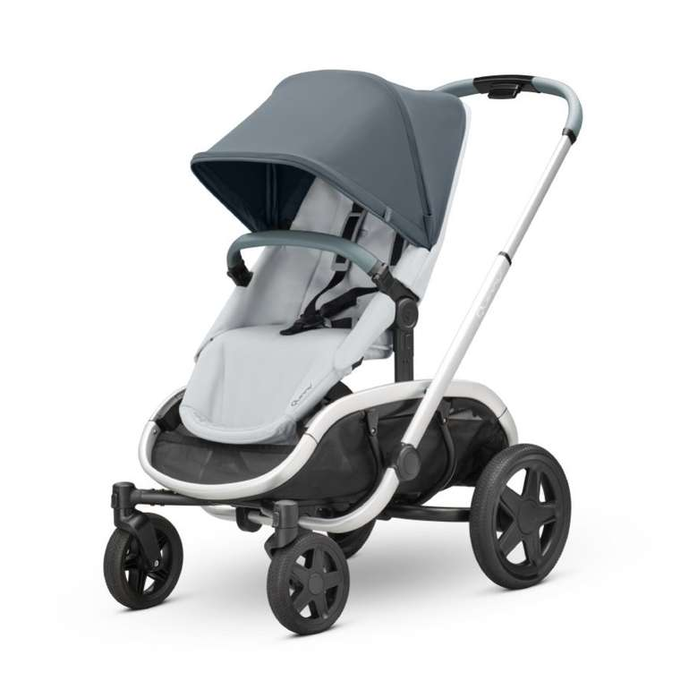 """Quinny Kinderwagen Hubb Mono """"Graphite on Grey"""" für 456,63€ inkl. Versand (statt 517€)"""